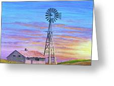 Sioux County Sunrise Greeting Card