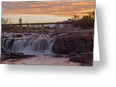 Sioux Falls Sunset Greeting Card