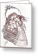 Sioux Wind Greeting Card