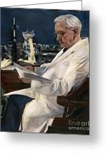 Sir Alexander Fleming Greeting Card