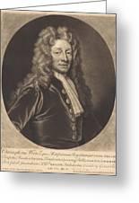 Sir Christopher Wren Greeting Card