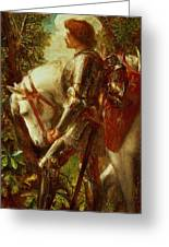 Sir Galahad Greeting Card