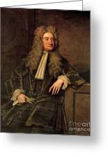 Sir Isaac Newton  Greeting Card by Sir Godfrey Kneller