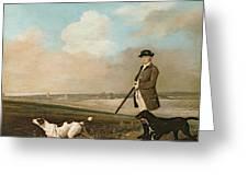 Sir John Nelthorpe Greeting Card by George Stubbs