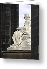 Sir Walter Scott Statue Greeting Card