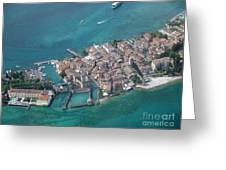 Sirmione's Castle Greeting Card