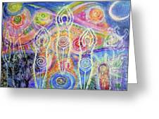 Sisterhood Of The Divine Feminine Greeting Card