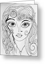 Sisterhood Of The Doodling Pens 4 Greeting Card