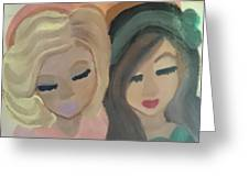Sisters  Greeting Card