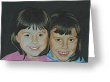 Sisters  Greeting Card by Ana Tirolese