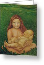 Sisters Of Mine Greeting Card