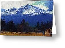 Sisters Oregon Ranch Greeting Card