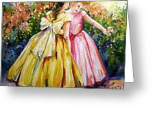 Sisters Secrets Greeting Card