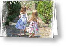 Sisters-true Blessing Greeting Card