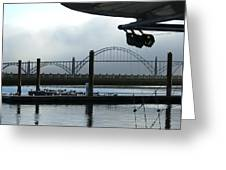 Sittin On The Dock Of The Bay 2300 Greeting Card