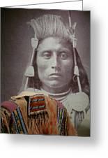 Native American Indian Greeting Card