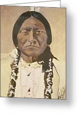 Sitting Bull Greeting Card