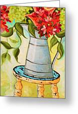 Sitting Pretty Greeting Card