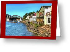 Gorgeous Siuslaw Riverfront Greeting Card