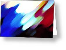 Sivilia 12 Abstract Greeting Card