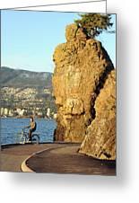 Siwash Rock Stanley Park II Greeting Card