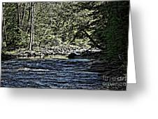 Six Mile Creek Ithaca Ny Greeting Card