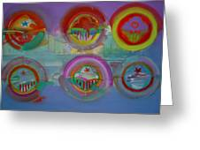 Six Visions Of Heaven Greeting Card
