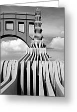 Sixth Street Perspective Pittsburgh Pa Greeting Card by Kristen Vota