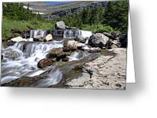 Siyeh Bend Going-to-the-sun Glacier National Park-5 Greeting Card