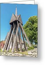 Sjosas Old Church Greeting Card