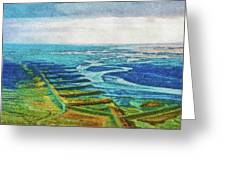 Skaftafell Floodplain Greeting Card