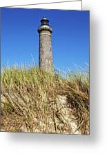 Skagen Denmark - Lighthouse Grey Tower Greeting Card