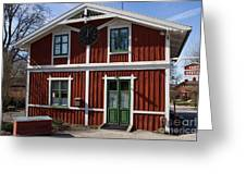 Skansen Building Greeting Card