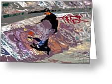 Skate Park Greeting Card