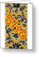Skateboard Design Greeting Card