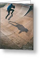 Skater Boy 001 Greeting Card