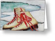 Skating Dreams Greeting Card
