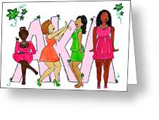 Skee Wee My Soror Greeting Card