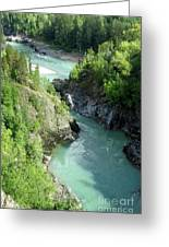 Bulkley River Canyon Greeting Card