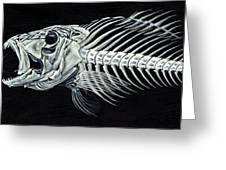 Skeletail Greeting Card