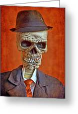 Skeleton Man Greeting Card
