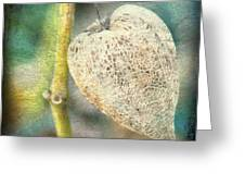Skeleton Physalis Greeting Card