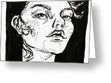 Sketchbook Scribbles Greeting Card