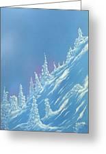 Ski Heaven Greeting Card