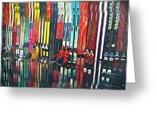 Ski Sun Valley Greeting Card