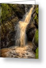 Skillet Creek Into The Deep Pool Greeting Card