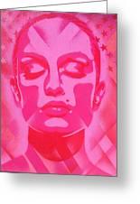 Skin Deep Series, Pinks Greeting Card