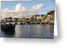 Skinny Bridge In Amsterdam Greeting Card