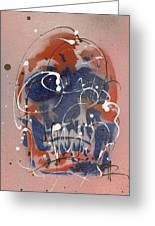 Skull #6 Greeting Card