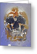 Skull #5 Greeting Card